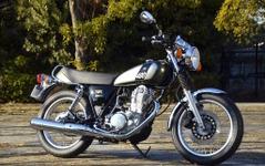 """ヤマハ SR400 、誕生年""""1978""""をあしらった新色がデビュー 画像"""