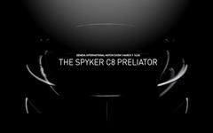 【ジュネーブモーターショー16】スパイカー、C8プレリエイター 初公開へ…新型スポーツカー 画像
