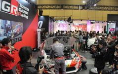 【大阪オートメッセ16】トヨタGAZOOブースで実際のレーシングカーを「分解」 画像
