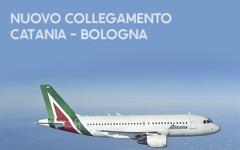 アリタリア航空、カターニア=ボローニャ線を開設へ…5月1日 画像
