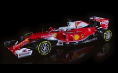 【F1】フェラーリ、2016年型マシン「SF16-H」を発表…赤と白のカラーリングに 画像