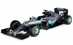 【F1】メルセデス、2016年マシン「W07 hybrid」を発表 画像