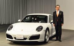 【ポルシェ 911カレラ 改良新型】ダウンサイズエンジンは「水冷化以上のマイルストーン」…七五三木社長 画像