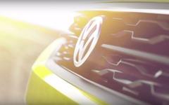【ジュネーブモーターショー16】VWの小型SUVコンセプト、グリルはメッシュデザイン 画像