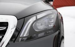 メルセデス Sクラス 改良型、新マルチビームLEDヘッドライト見えた! 画像