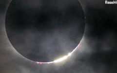 皆既日食を太陽光発電の電力だけで生中継…パナソニック 画像