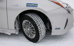 【グッドイヤー 雪上試乗】スタッドレスタイヤ ICE NAVI 6、新雪のハンドリングに納得 画像