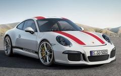 【ジュネーブモーターショー16】ポルシェ 911R、初公開…自然吸気500馬力をMTで操る 画像