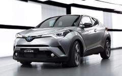 【ジュネーブモーターショー16】トヨタ C-HR 市販車を公開、日本発売は年内 画像