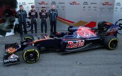 【F1】トロ・ロッソ、2016年カラーリングを公開…今季はフェラーリPUを使用 画像