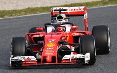 【F1】新コックピット保護システム「ハロ」、フェラーリが初めて実走テスト 画像