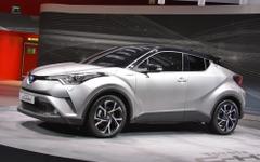【ジュネーブモーターショー16】トヨタ C-HR…グローバルモデルの新型クロスオーバー[詳細画像] 画像