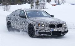 BMW M5 次期型、パフォーマンスはAMG E63を凌駕か 画像