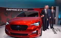 【池原照雄の単眼複眼】次期 インプレッサ で欧州車凌駕を狙うスバルの新プラットフォーム 画像