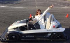 ミニスカートでもF1ドライバー気分を味わえるEV、鈴鹿に登場!…サーキット・チャレンジャー 画像