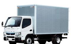 三菱ふそう キャンター 新型発表…燃費性能向上やインテリアの質感向上 画像