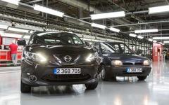 日産 キャシュカイ、欧州最多生産車に… マーチ 抜く 画像