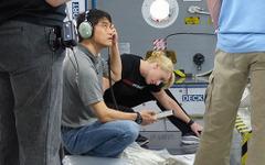 大西宇宙飛行士、ISSで緊急事態発生を模擬した訓練の様子を公開 画像