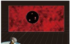 アルマ望遠鏡で、宇宙にある謎の赤外線放射の起源を解明…東京大学の研究チーム 画像