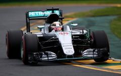 【F1 オーストラリアGP】ハミルトン、他を圧倒する速さで通算50回目のポールポジションを獲得 画像