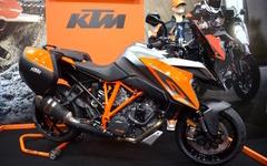 【大阪モーターサイクルショー16】スーパースポーツツアラー1290 スーパーデューク GTを披露…KTM 画像