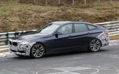 BMW 3シリーズGT、馬力アップの改良型ニュルにあらわる 画像