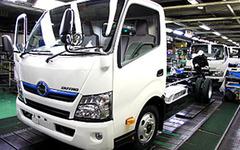 日野自動車、輸出2ケタ減で総生産台数が8か月連続マイナス…2月実績 画像