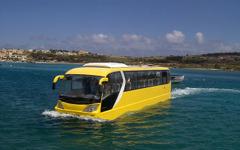 究極の水陸両用バス…マルタ共和国から発進 画像