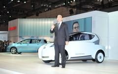 【東京モーターショー09】ゴーン日産社長、ランドグライダー  を量産開発へ 画像