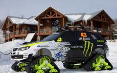 【SEMA 09】スバル インプレッサWRX STI が雪上車に変身 画像