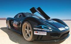 【MPH 09】英スーパーカー、世界最速記録なるか…418.59km/h 画像