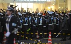 けが人も出た 渋谷駅前スクランブル交差点 画像