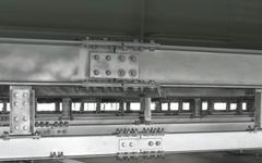 住友金属の溶接軽量H形鋼、第二京阪道路の裏面吸音板に大量採用 画像