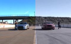 [動画]日産 GT-R 対ベントレー コンチネンタルSS、ゼロヨン対決の結末 画像