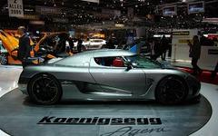 【ジュネーブモーターショー10】ケーニグセグ アゲーラ…最高速395km/h超のスーパーカー 画像