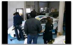 [動画]萌え博2010…痛車ができるまで実演 画像