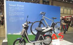 【東京モーターサイクルショー10】日本勢で孤軍奮闘、ヤマハ製電動バイク 画像
