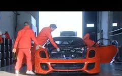 [動画]フェラーリ 599XX、ニュル最速記録更新の瞬間 画像