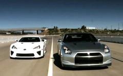 [動画]レクサス LFA 対 日産 GT‐R…ゼロヨン加速対決 画像