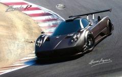 パガーニ ゾンダR、ニュルで市販車最速 6分47秒 画像