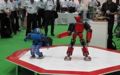 [ロボテク]普段見ることができない貴重なロボットを展示 画像