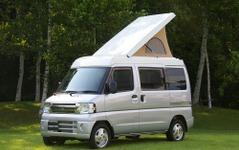 三菱、軽キャンパー市場に参入…本格装備で車中泊需要にアピール 画像