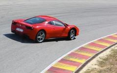 [動画]フェラーリ 458イタリア 火災事故 画像