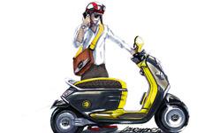 【パリモーターショー10】MINIから電動スクーター登場 画像