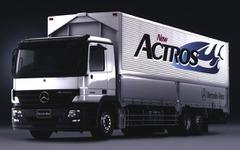 【新型『アクトロス』日本発表】メルセデスベンツの大型トラックが変わった 画像