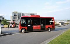 早稲田大の新型電動バスが完成、埼玉県で実証実験へ 画像