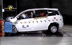 【ユーロNCAP】中国車が初の衝突テスト…結果は惨敗 画像