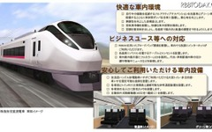 常磐線の新型特急にWiMAX導入へ 画像