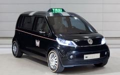 VW、英国でEVタクシーを公開…航続距離300km 画像