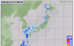 連休の天気は大荒れ、関東平野部にも雪の可能性 画像
